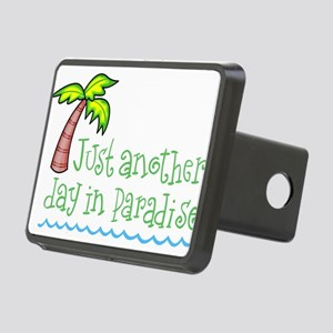 Another Day in Paradise Rectangular Hitch Cover