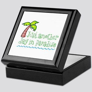 Another Day in Paradise Keepsake Box