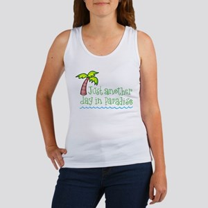 Another Day in Paradise Women's Tank Top
