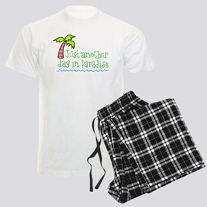 Another Day in Paradise Men's Light Pajamas