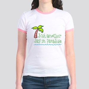 Another Day in Paradise Jr. Ringer T-Shirt