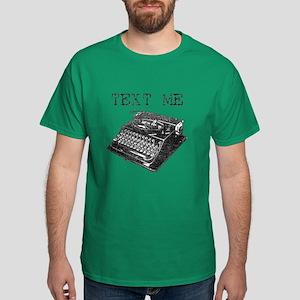 Text Me vintage typewriter Dark T-Shirt