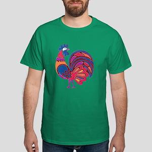 HAPPY ROOSTER Dark T-Shirt