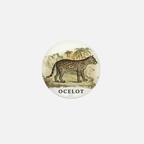 Ocelot Mini Button