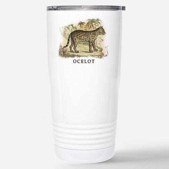 Ocelot Stainless Steel Travel Mug