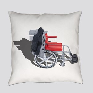 Houndstooth Jacket Wheelchair Everyday Pillow