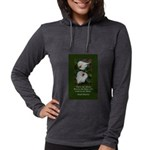 There are Always Flowers Womens Hooded Shirt