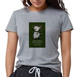 There are Always Flowers Womens Tri-blend T-Shirt