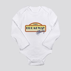 Broadway Baby Long Sleeve Infant Bodysuit