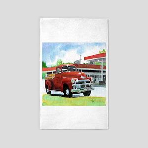 1954 Chevrolet Truck 3'x5' Area Rug