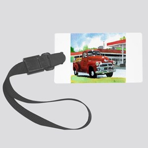 1954 Chevrolet Truck Large Luggage Tag