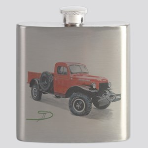 Antique Power Wagon Flask