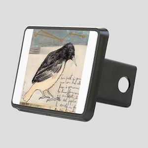 Black Bird Singing - Rectangular Hitch Cover