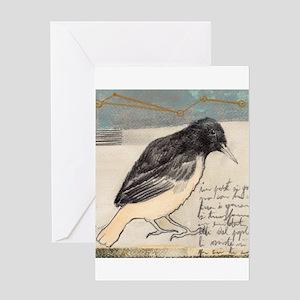 Black Bird Singing - Greeting Card
