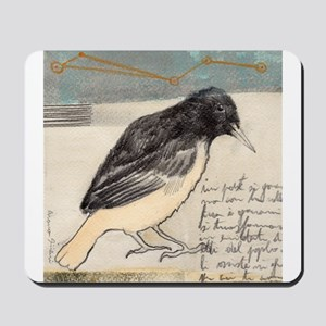 Black Bird Singing - Mousepad