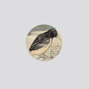 Black Bird Singing - Mini Button