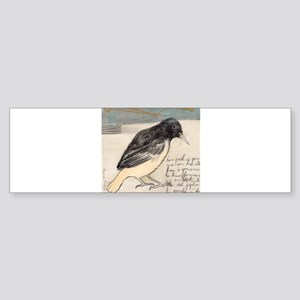 Black Bird Singing - Sticker (Bumper)