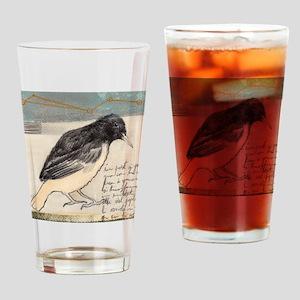 Black Bird Singing - Drinking Glass