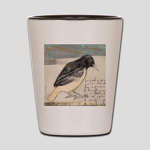 Black Bird Singing - Shot Glass