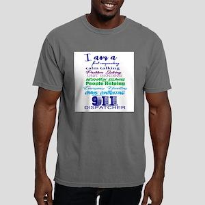 911 DISPATCHER Mens Comfort Colors Shirt