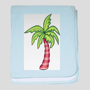 Palm Tree baby blanket