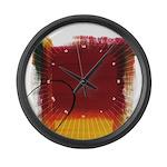 Character #13 Large Wall Clock