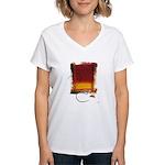 Character #13 Women's V-Neck T-Shirt