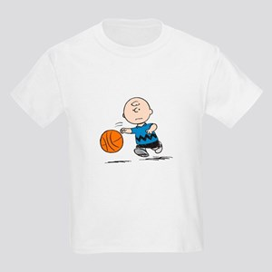 Basketballer Brown Kids Light T-Shirt