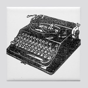 Typewriter Tile Coaster
