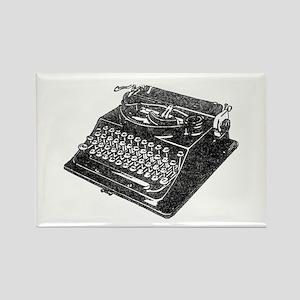 Typewriter Rectangle Magnet