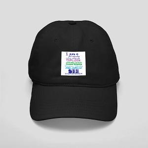 911 DISPATCHER Black Cap with Patch