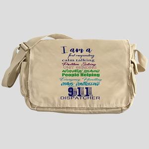 911 DISPATCHER Messenger Bag