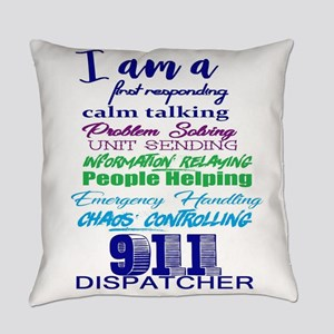 911 DISPATCHER Everyday Pillow