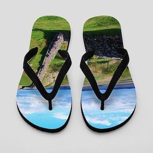 Hadrian's Wall Flip Flops