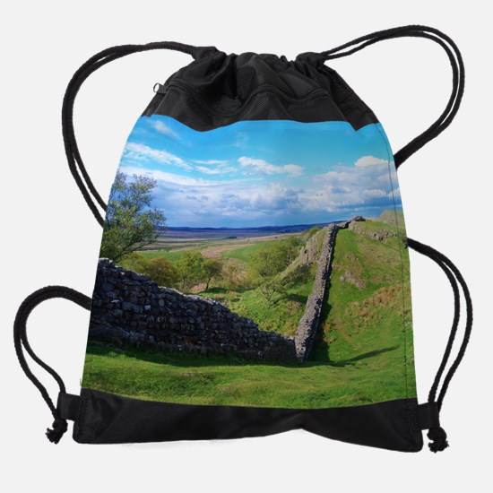 Hadrian's Wall Drawstring Bag