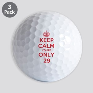 K C Youre Only 29 Golf Balls