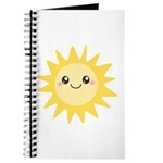 Cute happy sun Journal