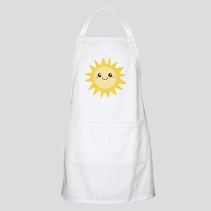 Cute happy sun Apron