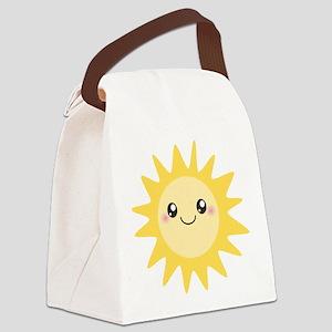 Cute happy sun Canvas Lunch Bag