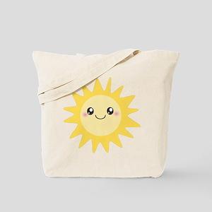 Cute happy sun Tote Bag