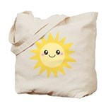 Cute happy sun Tote Bag