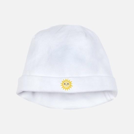 Cute happy sun baby hat