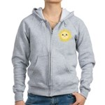 Cute happy sun Women's Zip Hoodie