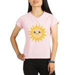 Cute happy sun Performance Dry T-Shirt