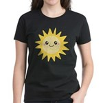 Cute happy sun Women's Dark T-Shirt
