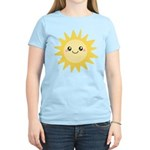Cute happy sun Women's Light T-Shirt