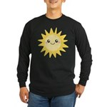 Cute happy sun Long Sleeve Dark T-Shirt