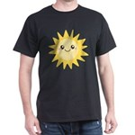 Cute happy sun Dark T-Shirt