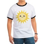 Cute happy sun Ringer T