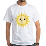 Cute happy sun White T-Shirt
